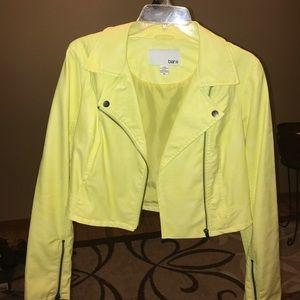 1. Bar III Neon Yellow jacket